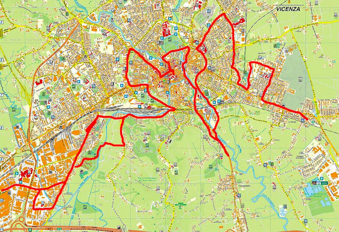30 Km in bici per il PUMS